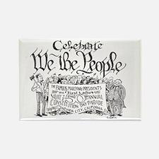 Unique Constitution day Rectangle Magnet