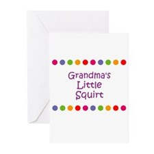 Grandma's Little Squirt Greeting Cards (Pk of 10)