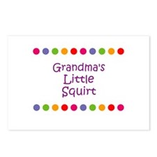 Grandma's Little Squirt Postcards (Package of 8)