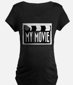My Movie Clapperboard Maternity T-Shirt