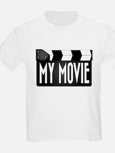 My Movie Clapperboard T-Shirt