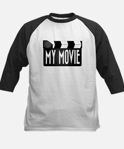 My Movie Clapperboard Baseball Jersey