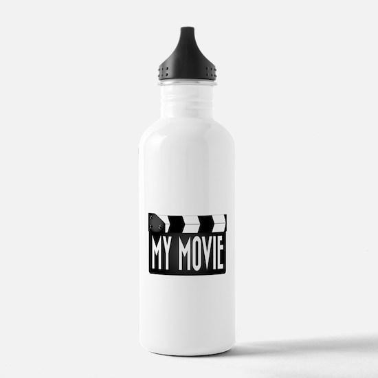 My Movie Clapperboard Water Bottle