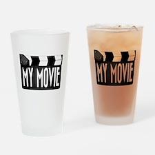 My Movie Clapperboard Drinking Glass