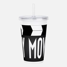 My Movie Clapperboard Acrylic Double-wall Tumbler
