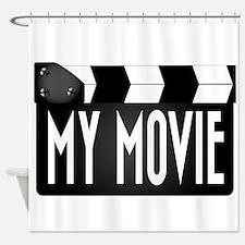 My Movie Clapperboard Shower Curtain
