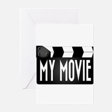 My Movie Clapperboard Greeting Cards