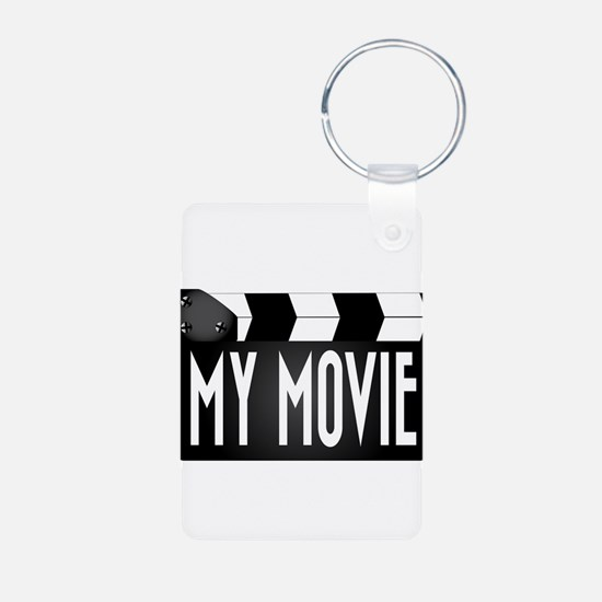 My Movie Clapperboard Keychains