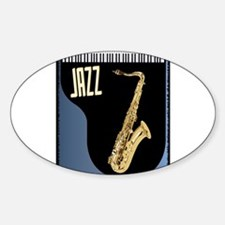 Saxophone Piano Background Decal