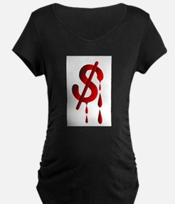 Exchange Rate Maternity T-Shirt