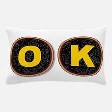 OK Typewriter Keys Pillow Case