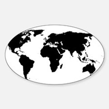 World Outline Decal