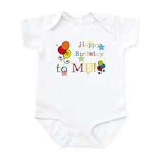 Cute Unique birthday Infant Bodysuit