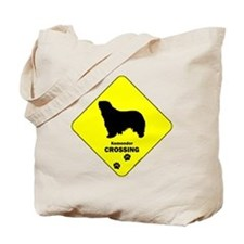 Komondor Crossing Tote Bag