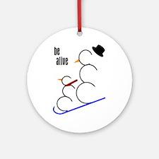Be Alive Ornament (Round)