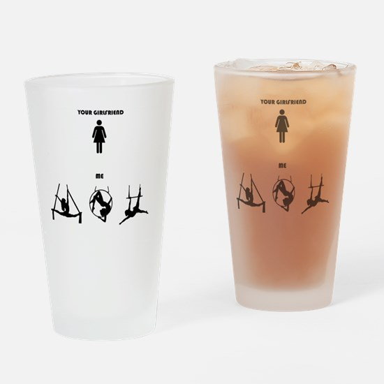 Unique Circus Drinking Glass