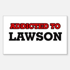 Addicted to Lawson Decal