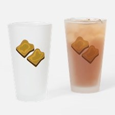 Wholemeal Toast Drinking Glass