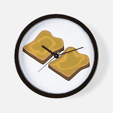 Wholemeal Toast Wall Clock