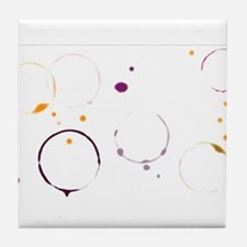Table Top Stains Tile Coaster