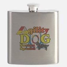 Sussex Spaniel Agility Flask