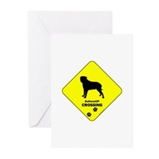 Bullmastiff Crossing Greeting Cards (Pk of 10)