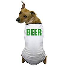 Green Beer Dog T-Shirt