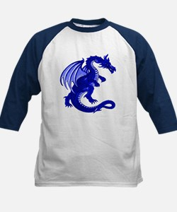 Kids Blue Dragon Baseball Jersey