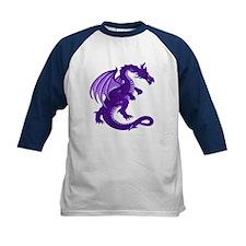 Kids Purple Dragon Baseball Jersey