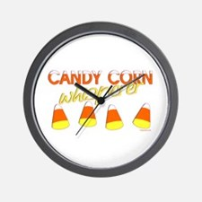 Candy Corn Whisperer Wall Clock