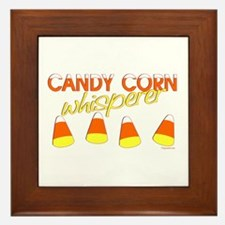 Candy Corn Whisperer Framed Tile