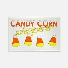 Candy Corn Whisperer Rectangle Magnet