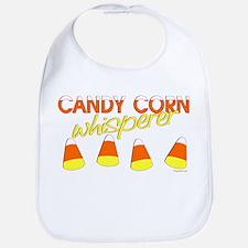 Candy Corn Whisperer Bib