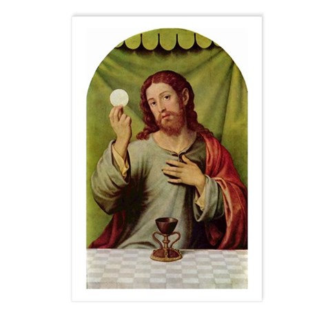 Jesus Last Supper Postcards (Package of 8)