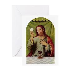 Jesus Last Supper Greeting Card