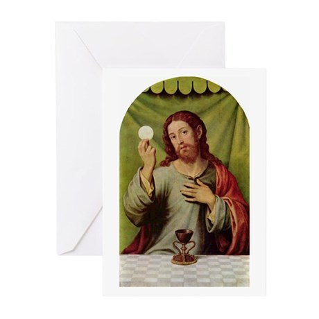 Jesus Last Supper Greeting Cards (Pk of 10)