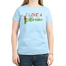 I Love A Marine T-Shirt