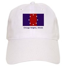 Chicago Heights IL Flag Baseball Cap