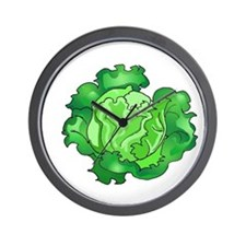 Lettuce Wall Clock