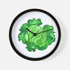 Lettuce Wall Clock