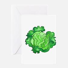 Lettuce Greeting Card
