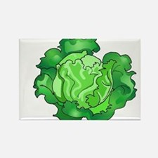 Lettuce Rectangle Magnet