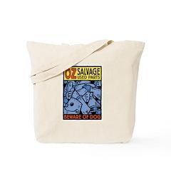 The Wizard of Oz Tin man Tote Bag