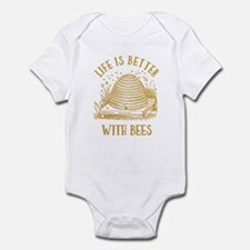 Life's Better With Bees Infant Bodysuit