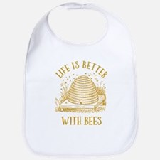 Life's Better With Bees Bib