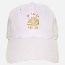 Life's Better With Bees Baseball Baseball Cap