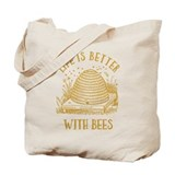 Honey bee Canvas Totes