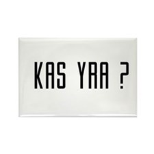 Kas Yra ? Rectangle Magnet
