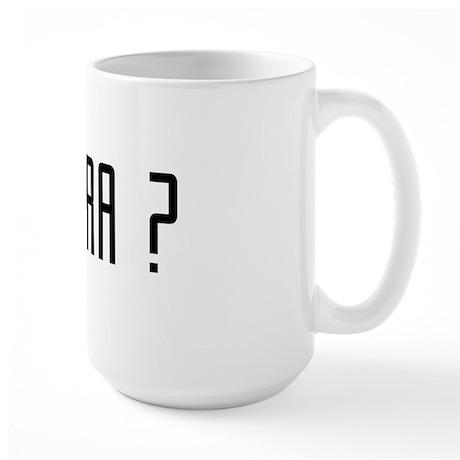 Kas Yra ? Large Mug