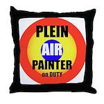 Plein Air PainterThrow Pillow